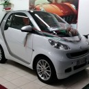 Smart fortwo diesel White model
